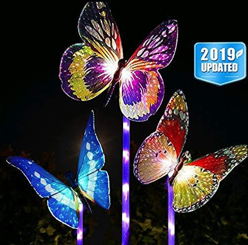 Butterfly Garden Solar Lights in US - 2