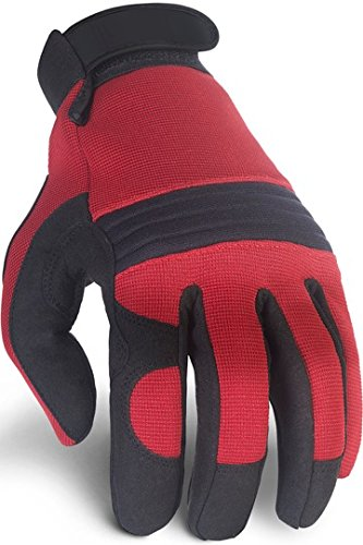Premium Mechanic Gloves with Padded Knuckles, Reinforced Palm, Firm Tool Grip, High Stretch Spandex Back, Perfect Fit Flexibility, Great Wear to Work, Safety Protection, All Purpose Tactical (Mens Clothes From The 80s)