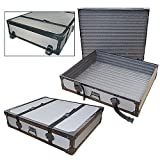 Artwork Portfolio & Sign Transport Road Case with Dolly Wheels - Id 40 X 30 X 6 High