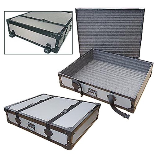 Artwork Portfolio & Sign Transport Road Case with Dolly Wheels - Id 40 X 30 X 6 High by Roadie Products, Inc.