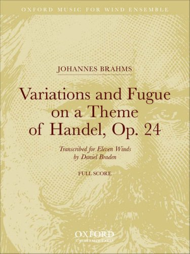 Variations and Fugue on a Theme of Handel, Op. 24 by Oxford University Press