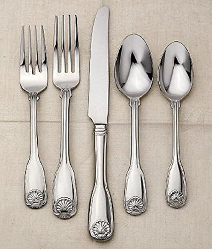 Reed & Barton 18/10 Stainless Colonial Shell II - 5pc. Place Setting (Service for (Barton Colonial Shell)
