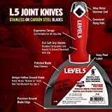 "6"" Soft-Grip Stainless Steel Drywall Joint Knife"
