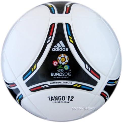 adidas TANGO 12 - Balón de fútbol blanco/negro Talla:5: Amazon.es ...