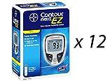 Bayer Contour Next Ez Blood Glucose Monitoring Kit, 12 Meters