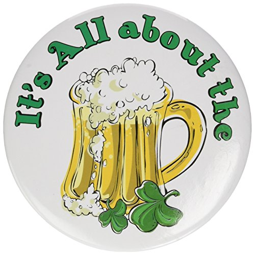 It's All About The Beer Button (1/Pkg) -