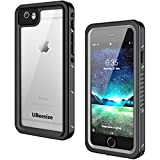 iPhone 6/ iPhone 6s Waterproof Case, GOCOOL IP68 with Built-in Screen Protector, Clear Sound Sealed Case for iPhone 6/ iPhone 6s, Waterproof, Shockproof, Snowproof, Gray&Black