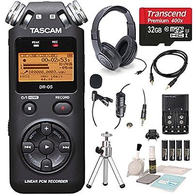 Tascam DR-05 Portable Handheld Digital Audio Recorder from Tascam