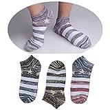 SUSocks Liner Men's Socks Ankle Socks (3-Pack) Cotton Ultimate Low Cut