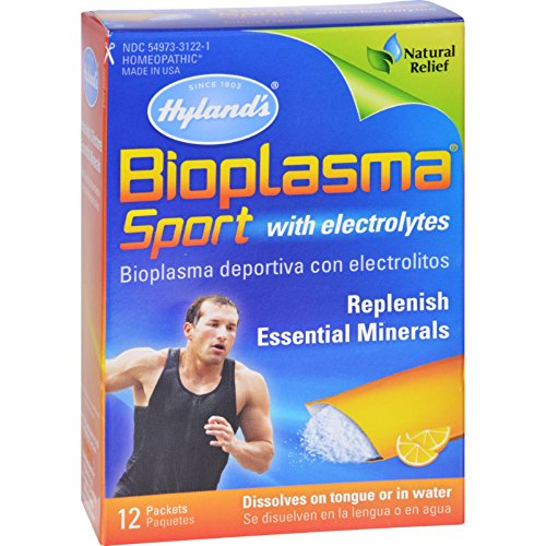 Hylands Homeopathic Bioplasma Sport Electrl