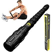 Muscle Roller Stick Pro, The Best Self Massage Tool, Relieve Sore Muscles, Cramps, Back Tightness,Trigger Points Pain, Myofascial Physical Therapy, Legs Recovery, Knots & Calf Soreness, (1 ROLLER)