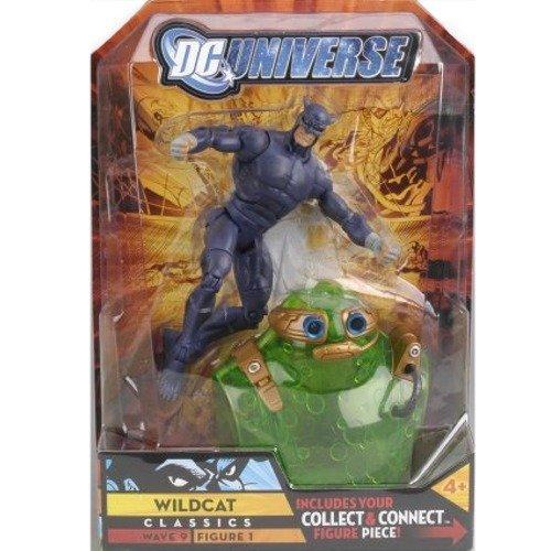 (Mattel DC Universe Classics Series 9 Action Figure Wildcat Purple Variant Build Chemo Piece!)