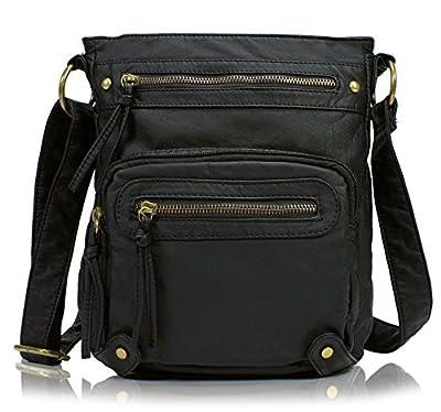 Scarleton Washed Multi Pocket Crossbody Bag H1693