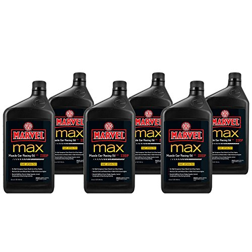 Marvel Mystery Oil 50919 Marvel Max Muscle Car/Racing Oil (6-Pack)