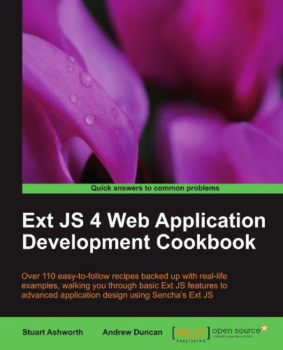 Ext JS 4 Web Application Development Cookbook by Andrew Duncan , Stuart Ashworth, Publisher : Packt Publishing