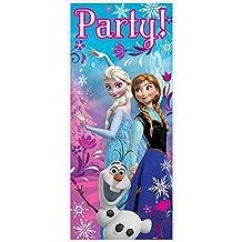"""Plastic Disney Frozen Door Poster, 60"""" x 27"""""""