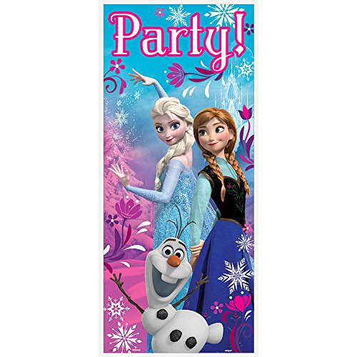 Disney Frozen Door Poster, 2.25 ft X 5 ft