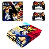 Vanknight PS4 Pro Playstation 4 PRO Console Skin Set Vinyl Decal Sticker 2 Controllers (PRO only) from Vanknight