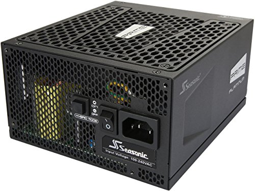 Seasonic PRIME Ultra 1000W 80 PLUS Platinum Power Supply, Full Modular, 135mm FDB Fan w/Hybrid Fan Control, ATX12V & EPS12V, Poweron-Self Tester,- 12 yr Warranty SSR-1000PD (Prima Power Supply)