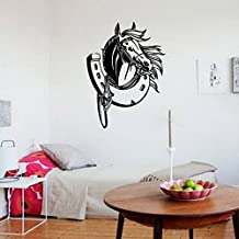 primary® Horse's hoof, wall decal stickers for living room/bedroom decoration(Specifications See the 58*43 cm)