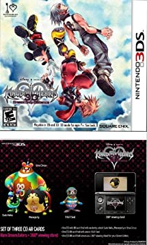 Kingdom Hearts 3D Dream Drop Distance  (Limited Edition with 3 AR Cards)