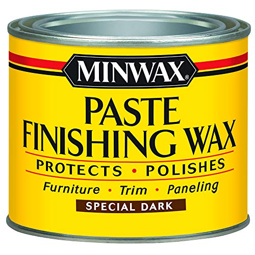 (Minwax 786004444 Paste Finishing Wax, 1-Pound, Special Dark)