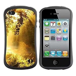 Paccase / Suave TPU GEL Caso Carcasa de Protección Funda para - Dawn - Apple Iphone 4 / 4S