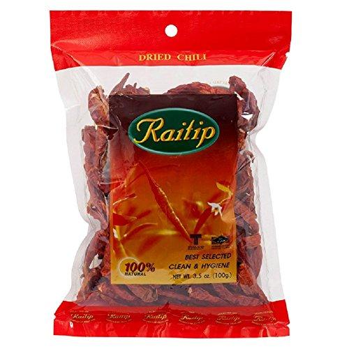 Thai Whole Dried Chile - 3.5 oz by Raitip