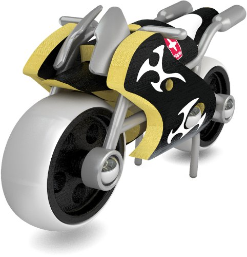 Hape e-Superbike Bamboo Kid's Toy Motorcycle