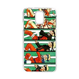 Creative Generic Japan Anime Naruto Custom Plastic Case Cover For Samsung Galaxy S5 (Laser Technology)
