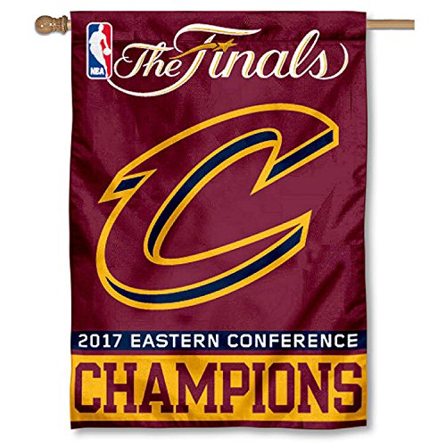 WinCraft Cleveland Cavaliers 2017 NBA Finals Bound House Flag by WinCraft