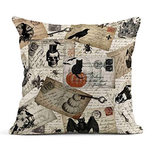Tarolo Throw Pillow Case Modern Vintage Retro Halloween