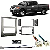 Fits Nissan Titan 2008-2012 Double DIN Stereo Harness Radio Install Dash Kit