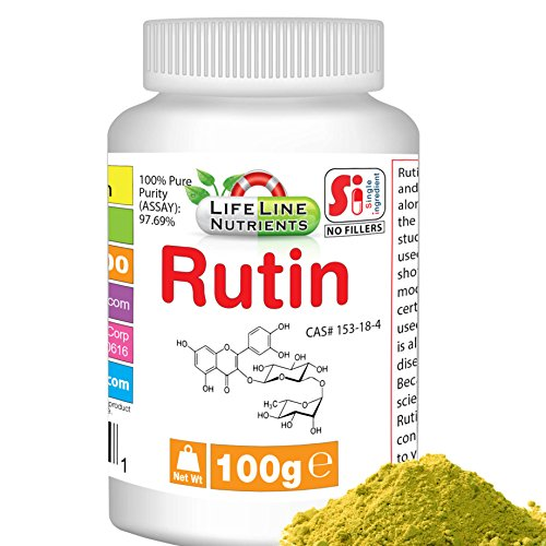 100g (3.53 oz)100% Pure Rutin Powder