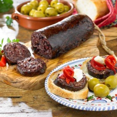 Morcilla de Burgos - Black Sausage with Rice by La Tienda ...