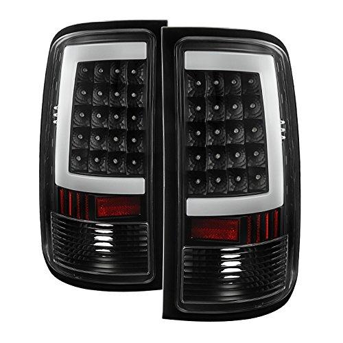 Xtune GMC Sierra (Not fit 3500 Dually 4 Rear Wheels) LED Tail Lights Black (Best Aftermarket Fog Lights)
