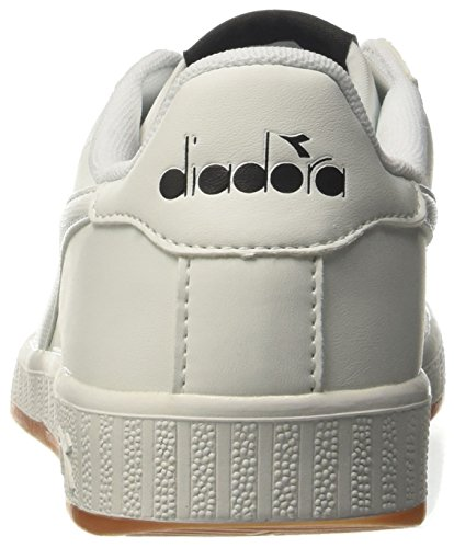 Diadora Game P, Zapatilla de Deporte Baja del Cuello Unisex Adulto, Blanco, 38 EU Blanco (Bianco)