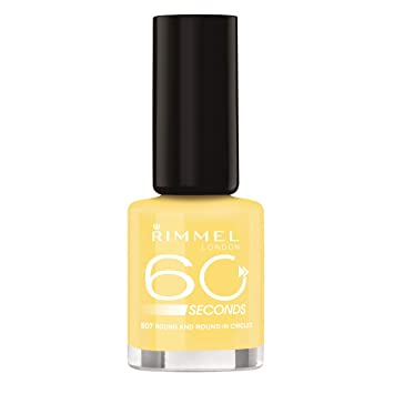 Amazon.com: Rimmel 60 Seconds Nail Polish, 507 Round And Round In ...