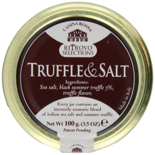 Casina Rossa Truffle and Salt - Premium Gourmet Sea Salt - 3.5oz.