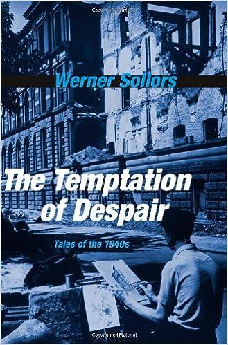The Temptation of Despair