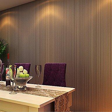 Contemporary Wallpaper Art Deco Style 3d Simple Stripes