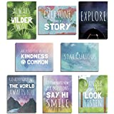 The World Mini Collection Wall Card Prints, Inspirational...