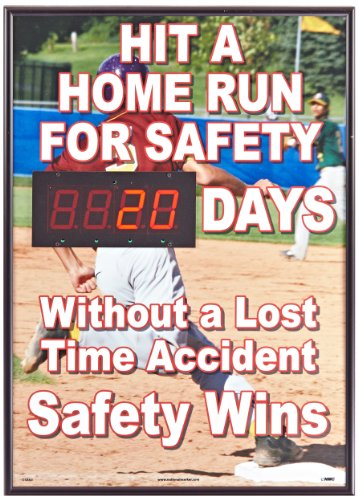 "New Media DSB60 Digital Scoreboard, ""Hit A Home Run For S..."