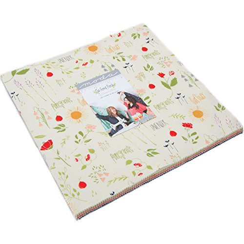 The Front Porch Layer Cake, 42-10'' Precut Fabric Quilt Squares by Sherri & Chelsi