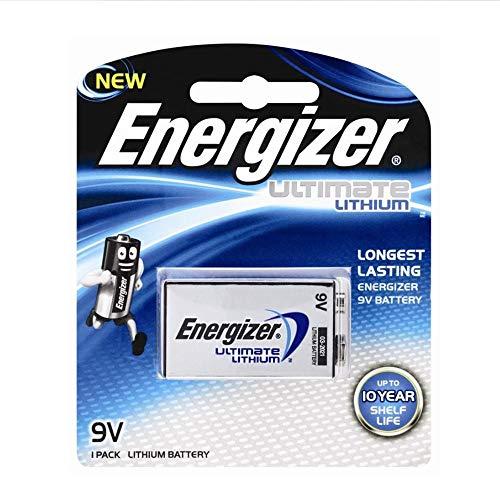 Bateria Energizer 9v lithium