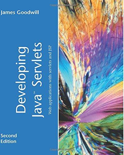 Developing Java Servlets (2nd Edition) by Sams Publishing