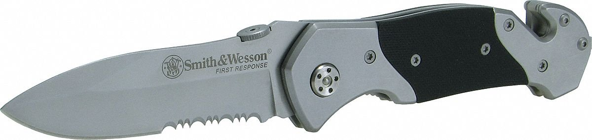 Smith & Wesson SWBG6TS Border Guard Liner Lock, Black by Smith Corona Machine Corporation