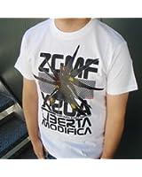 Cospa Gundam Seed Destiny ZGMF-X20A Liberta Modifica Strike Freedom White T-Shirt