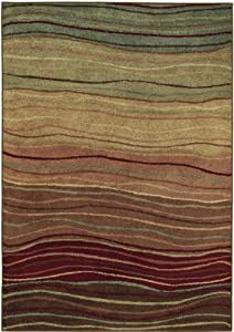 "Shaw Origins Multi Color Terra 16440 Rug, 7'8"" by 10'10"""