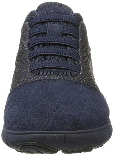 Geox Damen D Nebula A Sneaker Blau (navy)